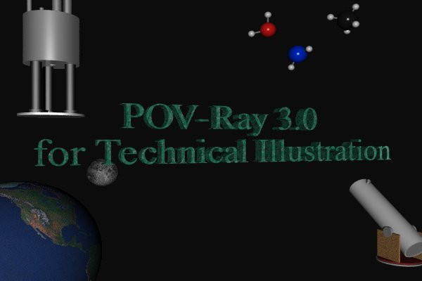 POV-Ray 3.0 for Technical Illustration